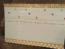 Doll House  Mini Tiles for Walls/ Floors 2 Sheets Made In Spain New