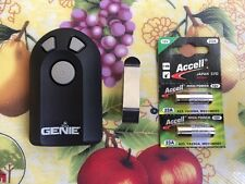 Genie Intellicode Model ACSCTG Type 3 Garage Door Opener Remote with Visor Clip