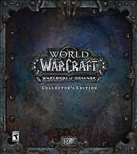 World of Warcraft Warlords of Draenor Collector's Edition PC Brand New Sealed