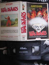 Fatal Diamonds de Wei Man, VHS America, Action/Kung-Fu, RARE!!