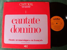 ENSEMBLE VOCAL DE NEUILLY : Cantate Domino - CANTORAL 1 - LP UNIDISC UD 30 1277