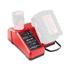 Milwaukee Dual Port Lithium Ion Charger 12v 14v 18v M12-18C 30min - 60min