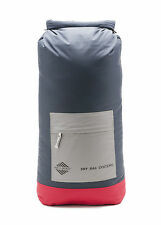 Aqua Quest Rio - 100% Waterproof Dry Bag Backpack - 40 L Charcoal + Red