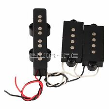 Bridge Pickup + Precision P Bass Neck Pickup for 4 String Jazz Bass