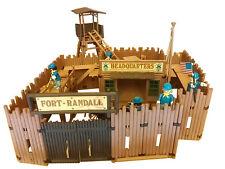 Playmobil 3419 Fort avec soldats et tour de garde et accessoires incomplet