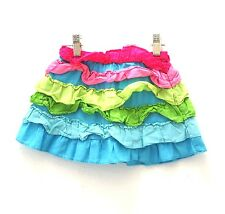 GYMBOREE Girls Multi-Color Ruffle Skirt - Sz 3T