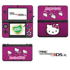 Hello Kitty Vinyl Skin Sticker for NEW Nintendo 3DS XL (with C Stick) - Pink