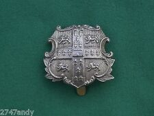 Cambridge University Volunteer Rifles -  GENUINE British Military Army Cap Badge