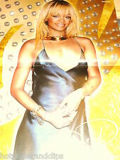 German Rihanna  Poster  wow mit blonden Haaren super sexy