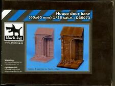 Blackdog Models 1/35 HOUSE DOOR Resin Diorama Base