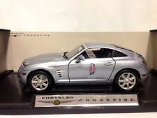 Chrysler Crossfire Collectibles 1:18 Scale, Diecast By MotorMax Toys,Silver
