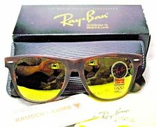 RAY-BAN *NOS VINTAGE B&L WAYFARER II VERY RARE W1681 B-23 CHROMAX NEW SUNGLASSES
