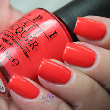 NEW! OPI Nail Polish Vernis ALOHA FROM OPI ~ Vibrant Coral-hued Red