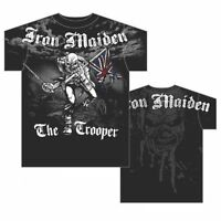 IRON MAIDEN - THE TROOPER - OFFICIAL MENS T SHIRT