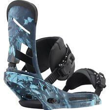 Burton Mission EST Snowboard Binding - L - Blue print