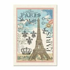 New Michel Design Works Cotton Paris Eiffel Tower Kitchen Tea Towel 100% Cotton