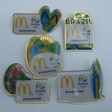 2016 Rio Olympic Mcdonalds 5 Pin Set