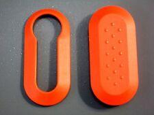 GUSCIO COVER CHIAVE DELTA BRAVO EVO 500 ARANCIONE parte anteriore e posteriore