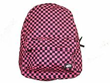 VANS Outlet Hot Pink And Black Checkered Bag New VANS OFF THE WALL Backpack