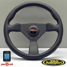 Nardi Personal NEO GRINTA Steering Wheel Black Leather 330mm 6497.33.2090