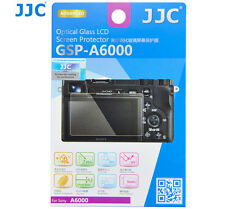 JJC GSP-A6000 Optical GLASS LCD Screen Protector Film for SONY ILCE A6000 Camera