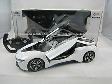 OFFICIAL LICENSED RC BMW i8 VISION CONCEPT REMOTE CONTROL CAR RADIO 1:14 SCALE