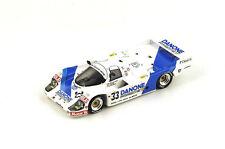 SPARK Porsche 956 Danone #33 4th Le Mans 1986 E. de Villota - Velez  S4437 1/43