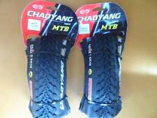 Pair ChaoYang Mountain Bike Tires 26x2.10 Folding Bead 26 Shark Skin Durability