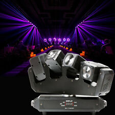 RGBW 80W Beam LED 4x Moving Head Stage Light DMX 28CH DJ Disco Party Lighting