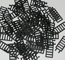 LEGO LOT OF 50 BLACK LADDERS 7 X 3 BARS PIECES PARTS