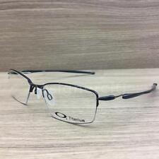 Oakley Lizard Titanium Eyeglasses Polished Midnight OX5113-0451 Authentic 51mm