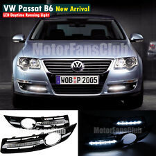 LED Daytime Running Light For VW Volkswagen Passat B6 DRL 2006 2007 2008 2009