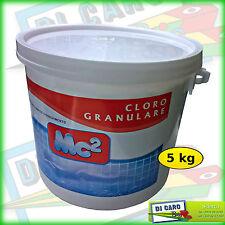 CLORO GRANULARE PER PISCINE DICLORO A RAPIDO DISSOLVIMENTO prodotti chimici 5 kg