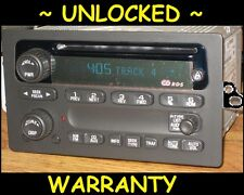 UNLOCKED 2002-2003 CHEVY GMC Envoy Trailblazer S10 RDS Radio CD Player