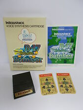 B-17 BOMBER INTELLIVOICE INTELLIVISION MATTEL ELECTRONICS - BOXED RARE