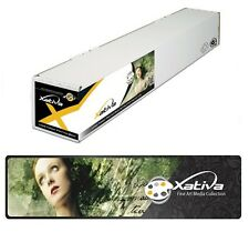 "Xativa Canvas Textured Paper 230gsm 42"" 1067mm x 30 roll for Epson Canon HP Cora"