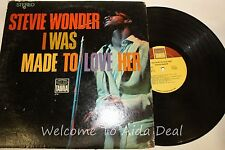 """Steve Wonder - I Was Made To Love Her LP (ACP) 12"""""""