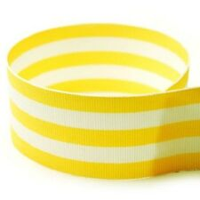 "5 yards  1.5"" Multiclored Stripes Taffy Woven Grosgrain Ribbon U Pick Color"