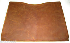 "EUC Saddleback Leather MACBOOK PRO with RETINA DISPLAY SLEEVE MEDIUM 15"" Tobacco"