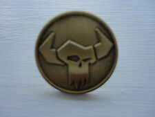 Warhammer 40k Games Workshop Orc Ork Gold Pin Badge Warhammer World Only New