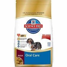 Hill`s Science Diet Adult Oral Care Dry Dog Food, 4-Pound Bag , New, Free Shippi
