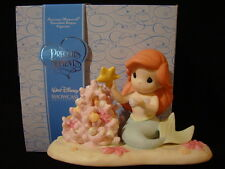zn Precious Moments-Disney-Ariel-Little Mermaid-Part Of My Christmas World