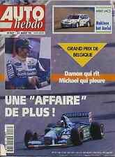 AUTO HEBDO n°947 du 31 Août 1994 GP BELGIQUE SAAB 900 cabriolet
