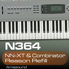 KORG N364 REASON REFILL 77 COMBINATOR & NNXT PATCHES 1119 SAMPLES 24BIT QUALITY
