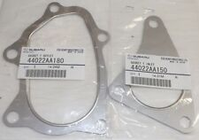Subaru Impreza WRX STi Turbo Inlet & Outlet Exhaust Gaskets GENUINE 1992-2014