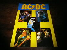 AC/DC - Carte postale / Postcard !!! C 387 !!!