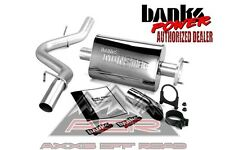 BANKS MONSTER EXHAUST SYSTEM 1997-99 JEEP WRANGLER TJ 51312