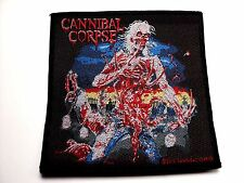 cannibal corpse eaten back to life    WOVEN  PATCH