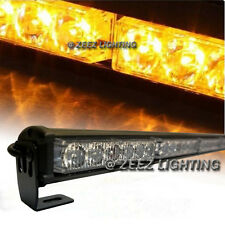 Yellow 36 LED Traffic Advisor Emergency Strobe Beacon Flash Warning Light Bar#97