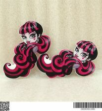 Flat Back Planar Resins - Monster High Draculaura Head - Set of 4